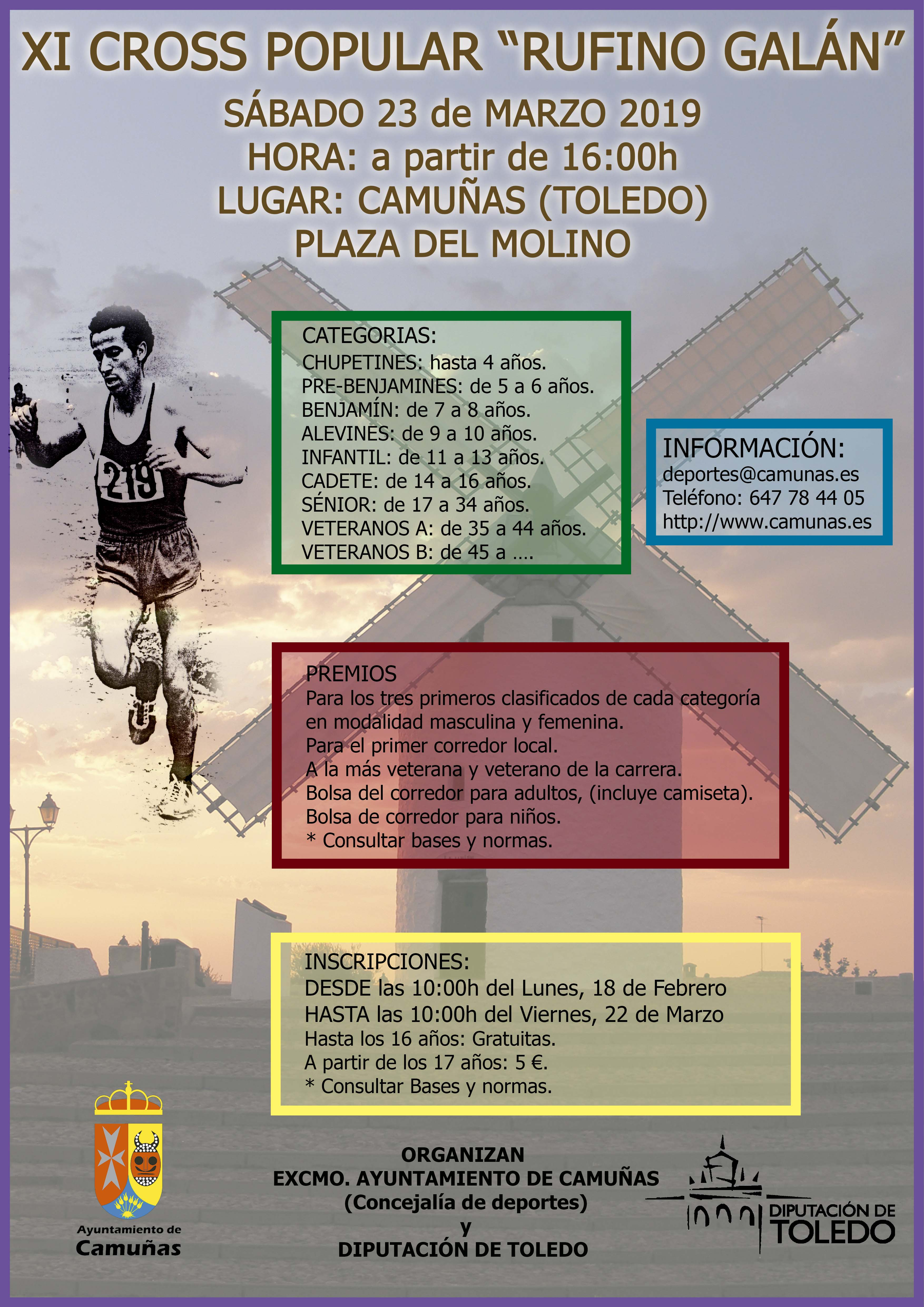 Cartel Detallado Cross 2019